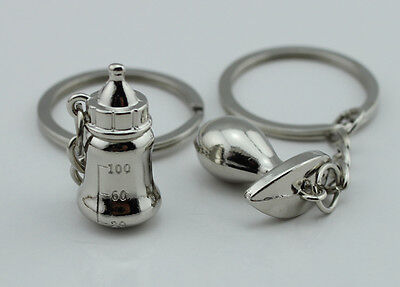 A couple keychain Fashion Metal couples keychains Key Ring for lover YK16