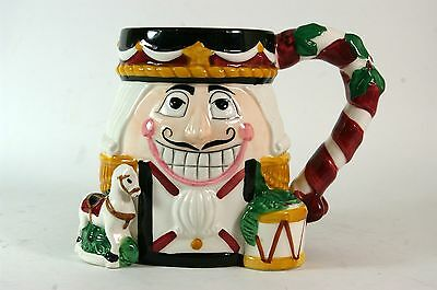 Ceramic Christmas Mug Nutcracker Tis the Season