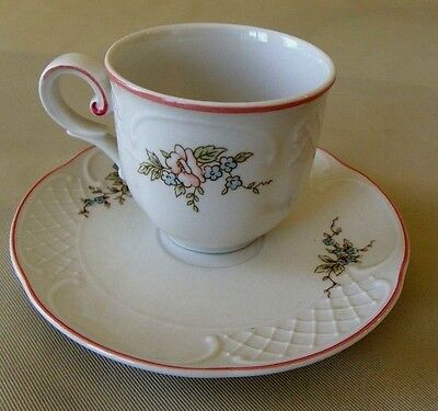 Villeroy & Boch The Danbury Mint Demitasse Cup And Saucer