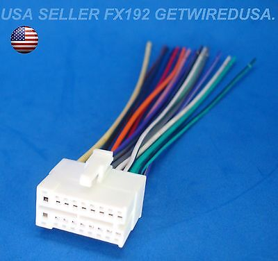 xo vision 20 pin radio wire harness stereo power plug back clip 18 pin clarion dvd player wire harness tv radio power plug stereo back