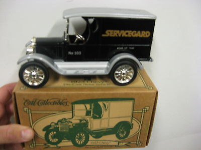 John Deere Servicegard toy truck bank,  4th in series, New in box, hard to find