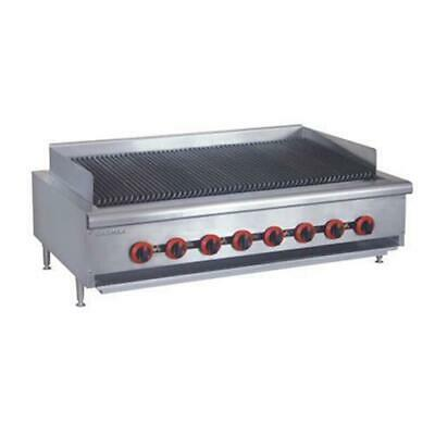 Gas Char Grill 8 Burner, Chargrill Cooktop Commercial Restaurant Equipment NEW