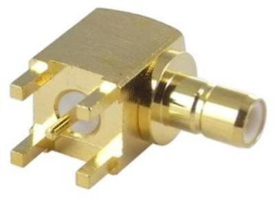 Te Connectivity/Amp 414026-2 Rf/Coaxial Smb Jack R/A 50 Ohm Solder
