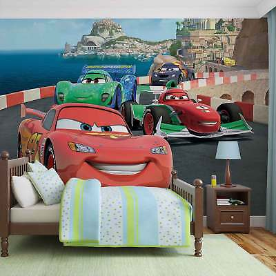 WALL MURAL PHOTO WALLPAPER PICTURE (320P) Disney Cars Boys Childrens Bedroom