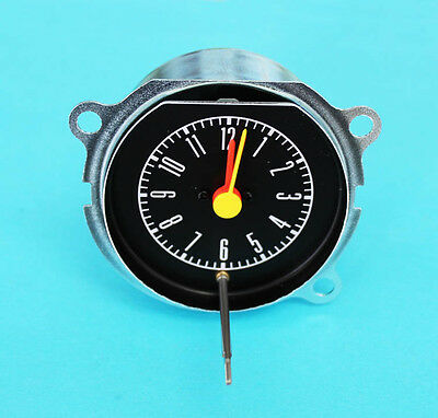 NEW! 1967-1968 Ford Mustang Instrument dash Bezel Clock Galaxie, Shelby