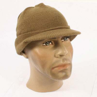 Jeep cap US Army M1941 excellent reproduction. American WW2 winter hat AG029