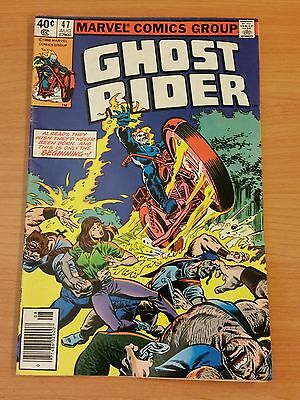 Ghost Rider #47 ~ FINE - VERY FINE VF ~ 1980 MARVEL COMICS