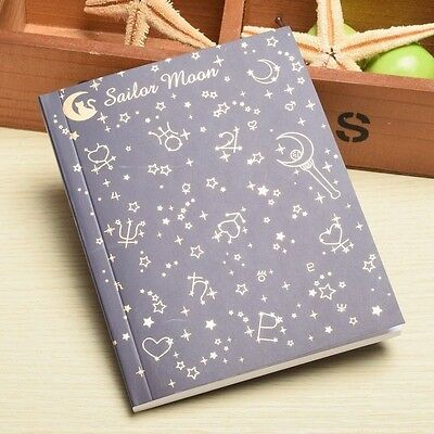 Anime Sailor Moon Notebook Collection Journal Diary Memo Crystal Cosplay Props