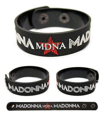 MADONNA Rubber Bracelet Wristband MDNA Like a Virgin Hard Candy