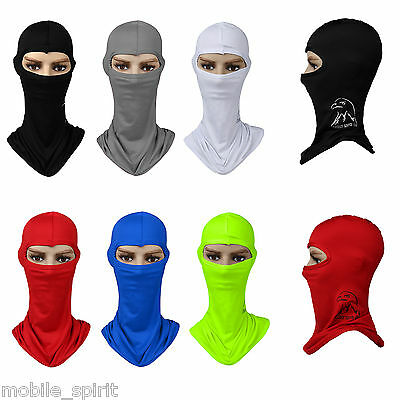 Motorcycle Cycling Ski Face Neck Protecting Outdoor Lycra Balaclava Face Mask