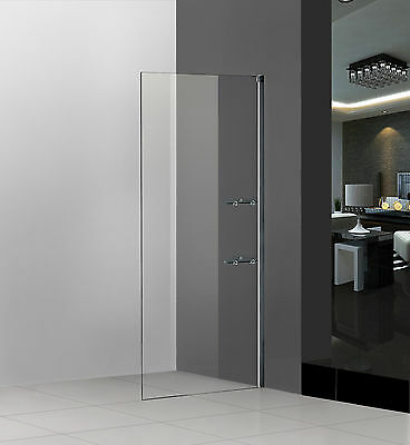 800x1850mm Shower Enclosure Walk In Wet Room Screen Easyclean Glass S27
