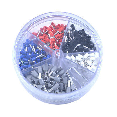 IWISS Wire Ferrule Assortment Pack..22,20,18,16,and 14 AWG Insulated