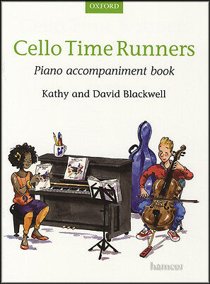 Cello Time Runners Piano Accompaniment Music Book