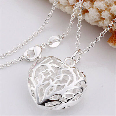 Discount Wholesale Xmas Gifts Solid 925Sterling Silver Jewelry Necklace Pendant