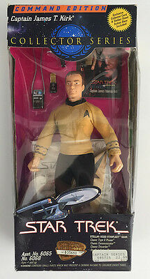 Captain James T. Kirk Command Edition Collector Series Fully Articulated Figure