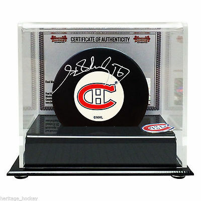 Henri Richard Montreal Canadiens Authentically Signed Puck