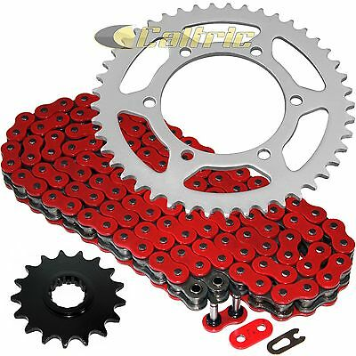 Red O-Ring Drive Chain & Sprockets Kit Fits YAMAHA R1 YZF-R1 2004-2008