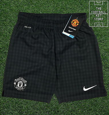 Manchester United Away Boys Shorts - Official Nike Football Shirts - All Sizes