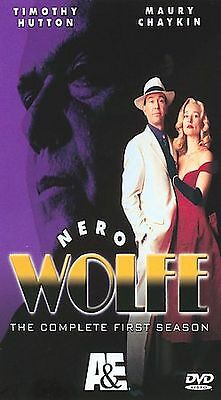 NERO WOLFE - THE COMPLETE FIRST SEASON (DVD, 2004, 3-DISC SET)