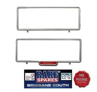 Nasco Number Plate Frames With Holden Script In One Rare Spares Brisbane South