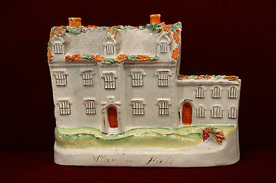Staffordshire Stanfield Hall Collectible