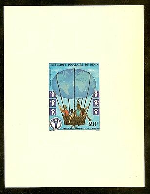 Benin Proof for 1979 20 Francs International Year of the Child