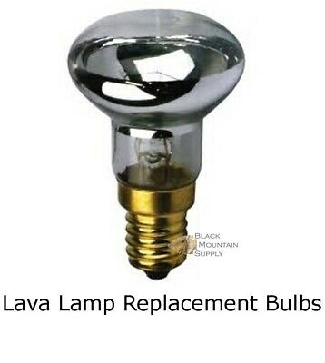 Lava Lamp Replacement Light Bulb, Reflector Type, R39 E17 Base 30 Watt  *1 BULB*