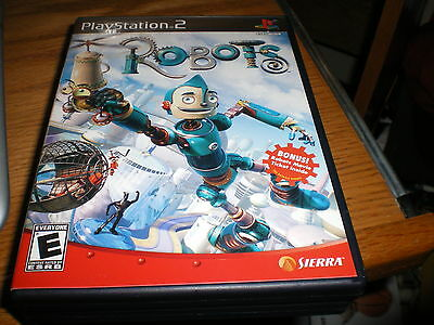 """PS 2 GAME """" ROBOTS """" VERY GOOD COND,COMPLETE"""
