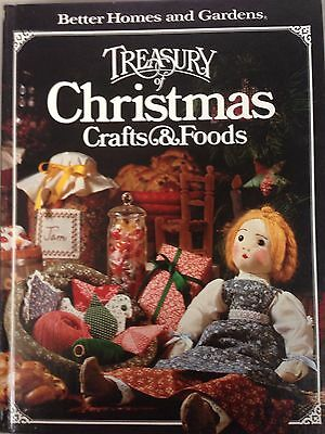Treasury of Christmas Crafts & Foods  Better Homes and Gardens Book (1980)
