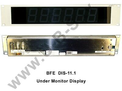 BFE DIS-11.1 - Under Monitor Display