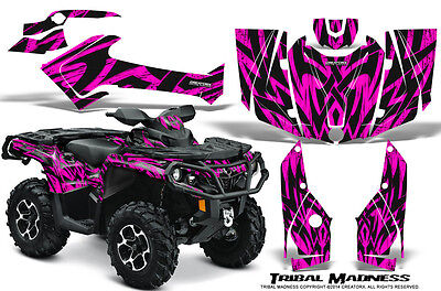 Can-Am Outlander 800 1000 R Xt 12-16 Graphics Kit Creatorx Decals Tmp