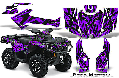 Can-Am Outlander 800 1000 R Xt 12-16 Graphics Kit Creatorx Decals Tmpr