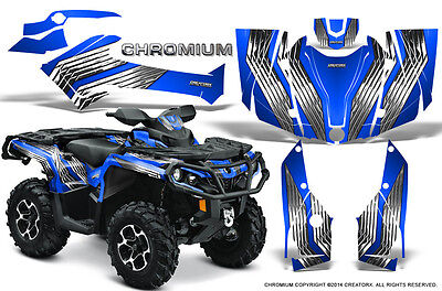 Can-Am Outlander 800 1000 R Xt 12-16 Graphics Kit Creatorx Decals Chrbl