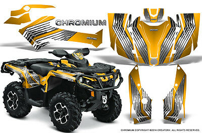 Can-Am Outlander 800 1000 R Xt 12-16 Graphics Kit Creatorx Decals Chry