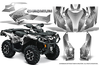Can-Am Outlander 800 1000 R Xt 12-16 Graphics Kit Creatorx Decals Chrw