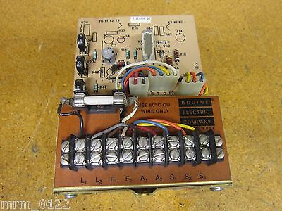 Bodine Electric Company ASH-550 Chassis Type DC Motor Speed Control 115V 50/60Hz