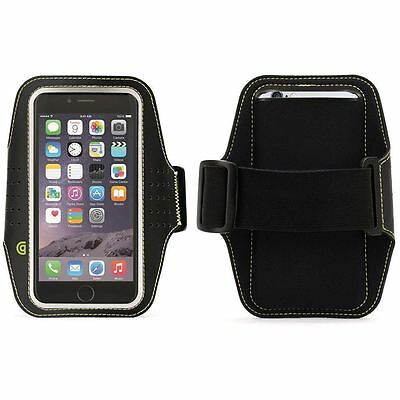 Black Griffin Trainer Sports Running Gym Armband Holder Case iPhone 6 6S GB38804