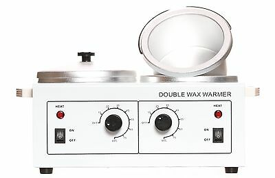 Professional Double Wax Warmer Spa Beauty Face and Body Waxing
