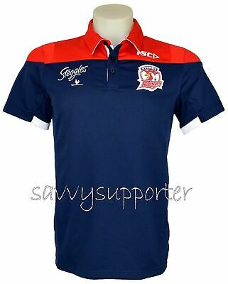 Sydney Roosters Media Polo Shirt 'Select Size' S-5XL BNWT5
