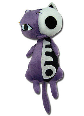 Panty and Stocking 8'' Hollow Kitty Plush Doll Licensed NEW