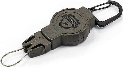 T-REIGN Heavy Duty Hunting Retractable Gear Keeper / Keyreel / Carabiner US made