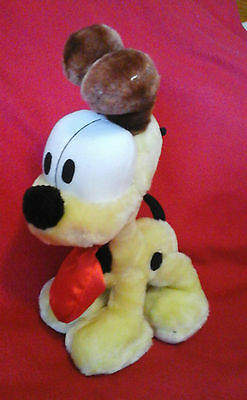 RARE VINTAGE ODIE THE DOG FROM GARFIELD SOFT TOY PLUSH VGC