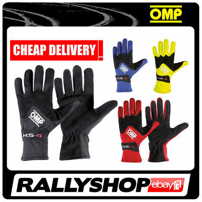 OMP KS-4 GLOVES KART KARTING ALL SIZES Sport Race Driving Go Kart Track Day