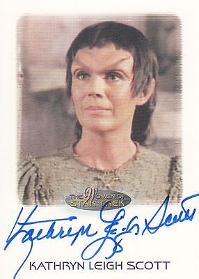 Star Trek of Women: Kathryn Leigh Scott autograph