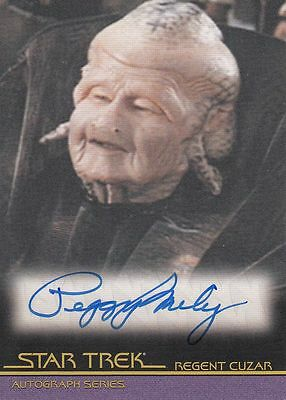 Star Trek Quotable Movies  A103 Peggy Miley autograph