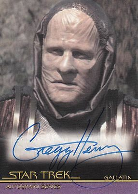 Star Trek Quotable Movies  A109 Gregg Henry autograph