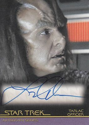 Star Trek Quotable Movies  A86 Larry Anderson autograph