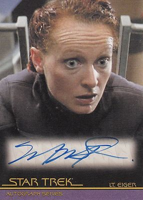 Star Trek Quotable Movies  A79 Marnie McPhail autograph