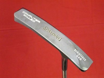 RARE DISPLAY SPALDING TP MILLS TPM PRO COMPUTER MILLED PUTTER WITH WOOD CASE