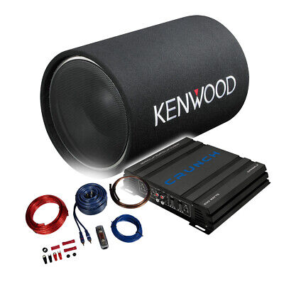 KENWOOD Bass/Sound-Paket Verstärker+Bass Tube+Kabelset - 1200W-BP1